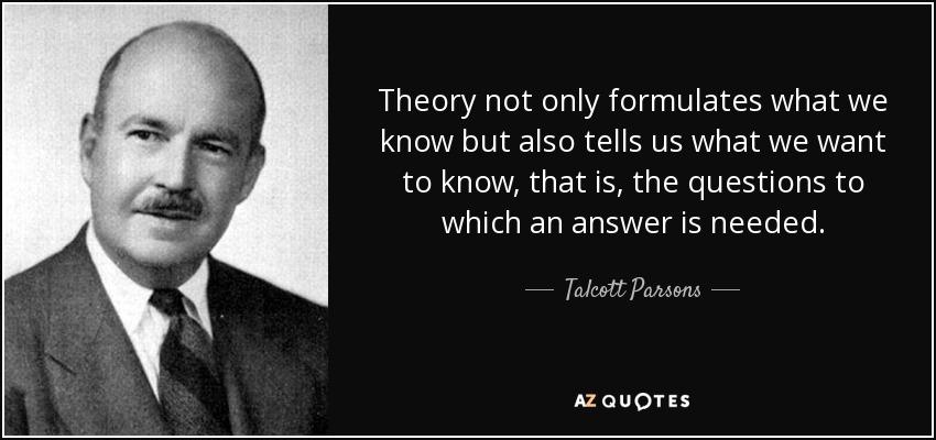 TRANSCEND MEDIA SERVICE  Talcott Parsons 13 Dec 1902  8