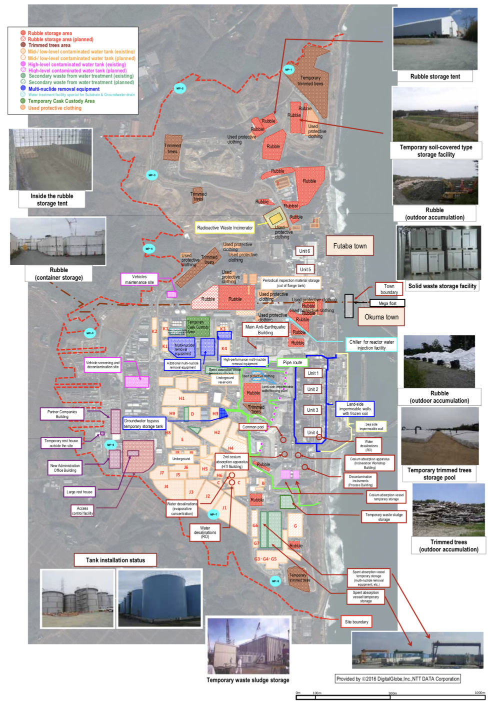 medium resolution of a schematic of the fukushima nuclear power plant hints at the complexity of decontamination and decommissioning operations tepco