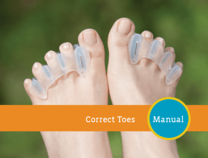 Correct toes Instructions and owners manual.