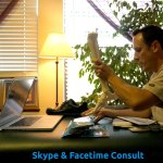 Skype or Facetime consultation with aaron Gustafson LMT, CAMT II