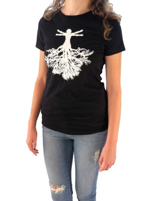 womens root tee front