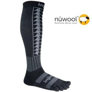 Injinji Snow Toe Socks houndstooth
