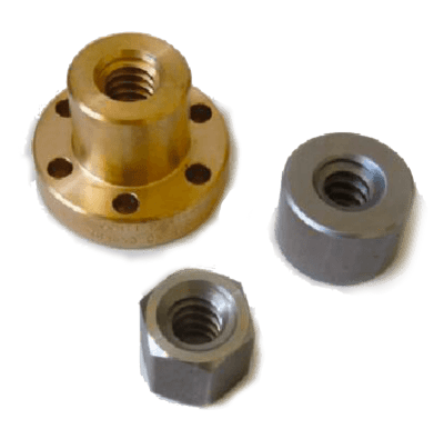 Trapezoidal Nut Type FFR – Flanged Bronze