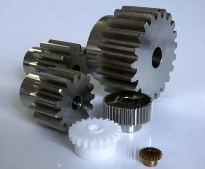 Metric Spur Gears in Steel 0.5 MOD