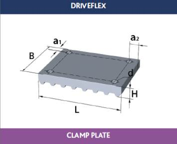TransDev Belt Clamp Plates