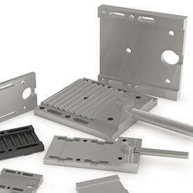 Clamp and Tension Plates