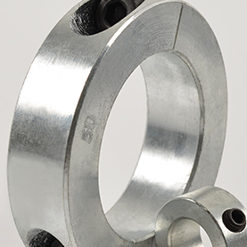 Metric Bore Double Split Shaft Collars (Steel & Stainless Steel)