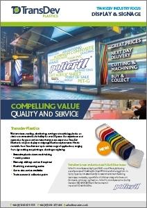 Signage Industry Focus Brochure