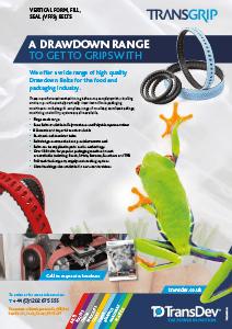 Transgrip VFFS Belts Leaflet