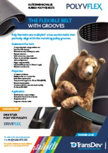 Poly Vflex Belts Leaflet