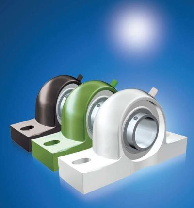 NEW Thermoplastic Bearing Housings (4 Colours) and Inserts