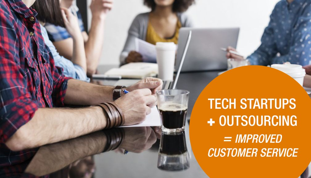 Outsourcing Customer Service Tech Startups