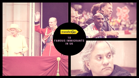 Famous immigrants in UK