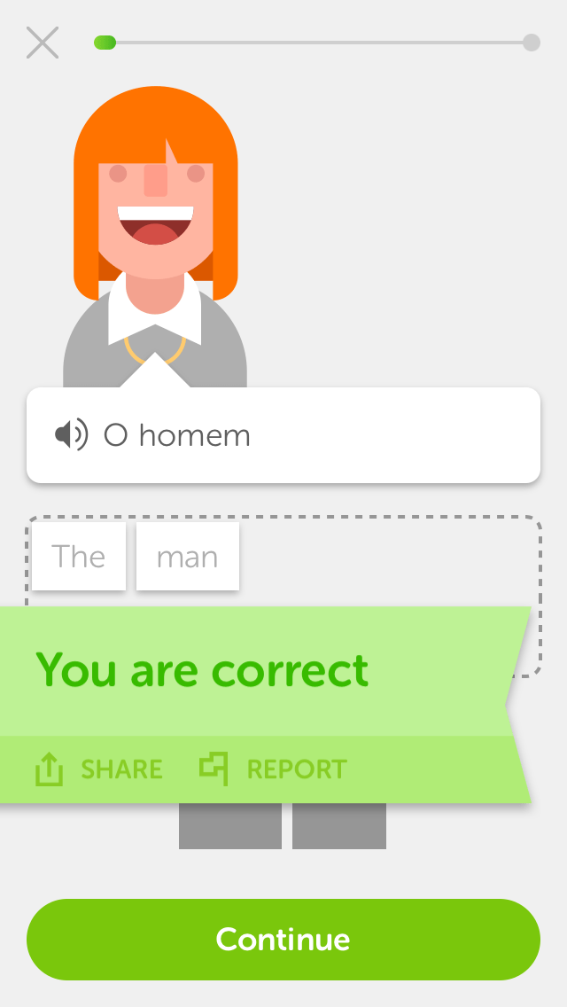 Duolingo screenshot2