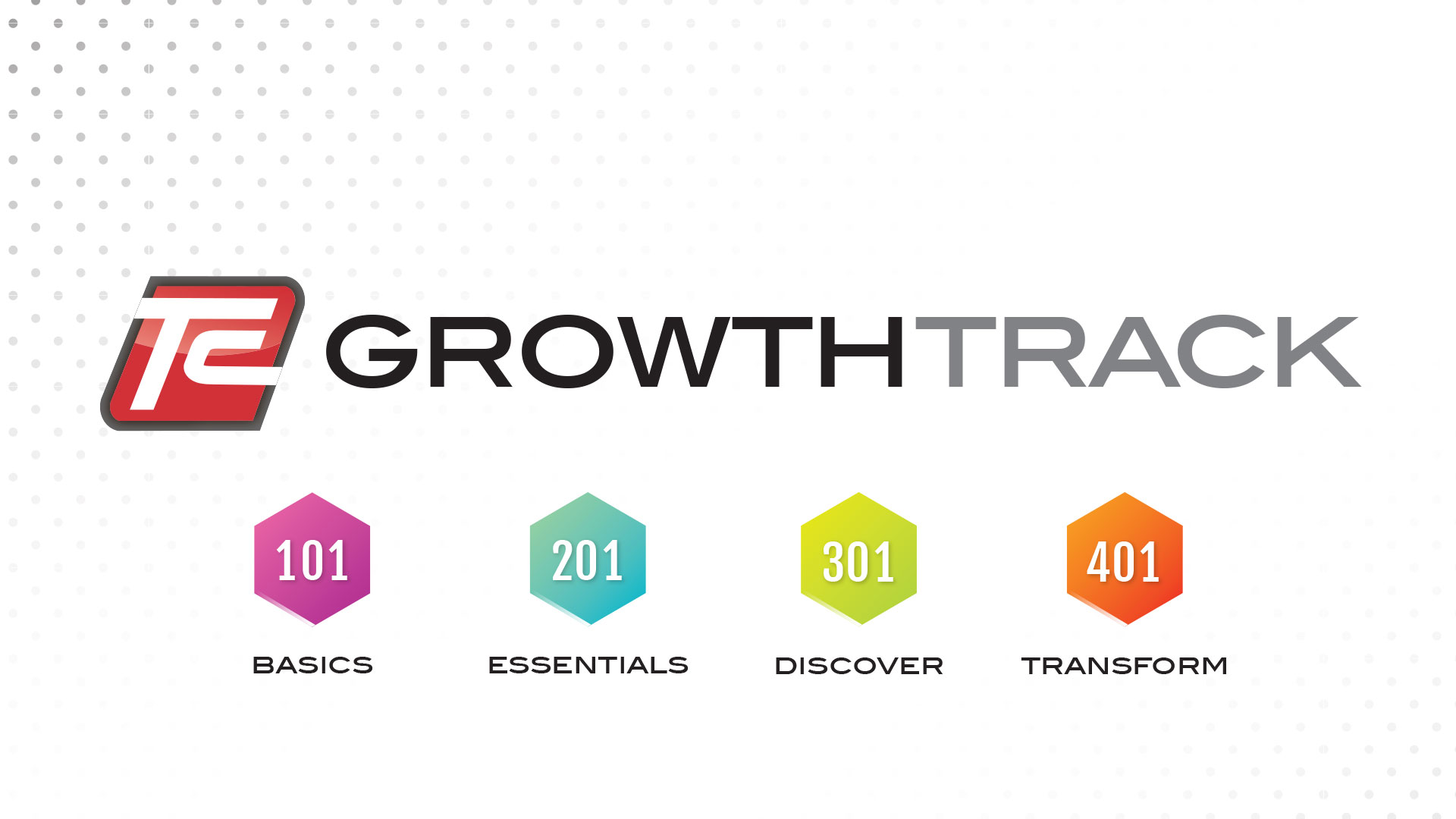 hight resolution of growth track