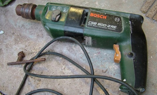 my BOSCH CSB 800 2RE power drill