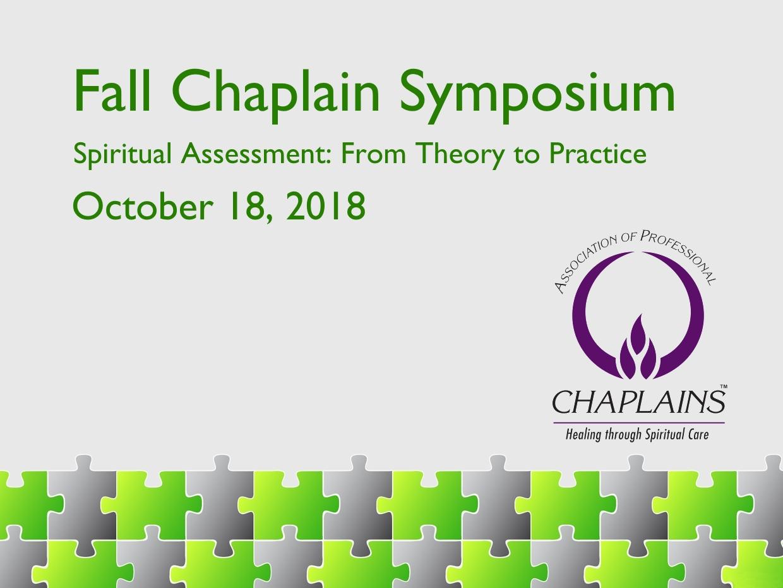 2018 APC Fall Symposium