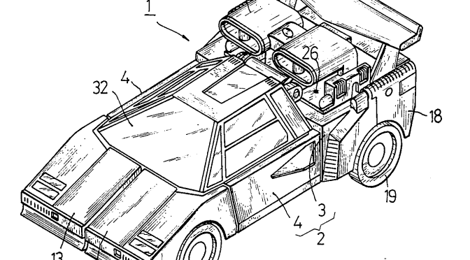 The G1 Transformers Patent Table (and the reversibly
