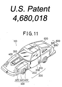 Autobot Cars Prowl (Transformers, G1, Autobot