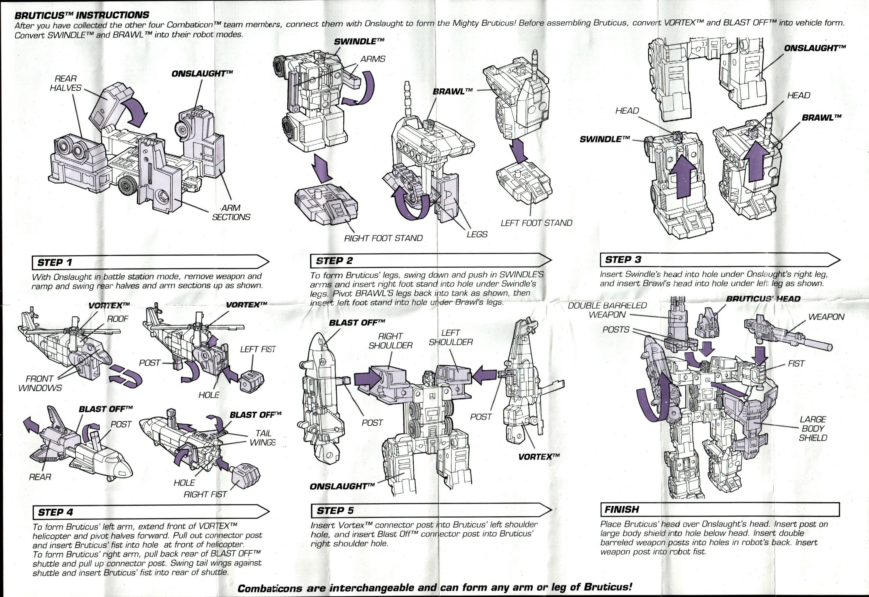 Combaticons (Bruticus, G2) Bruticus (Transformers, G2