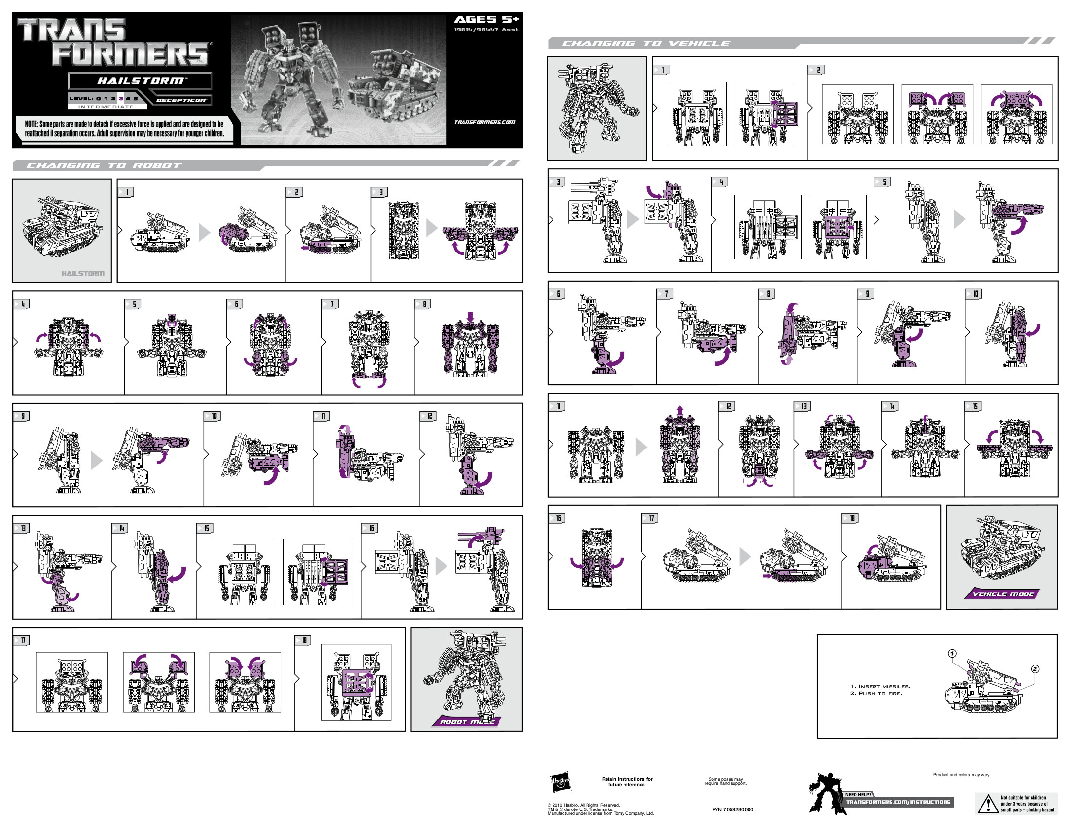 Deluxe Class Hailstorm (Transformers, Transformers (2010