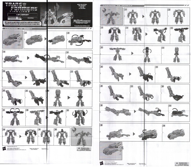 Annual Membership Figures Lio Convoy (Transformers, BotCon