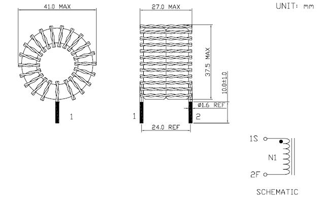 Toroidal coil inductor Manufacturers and Suppliers