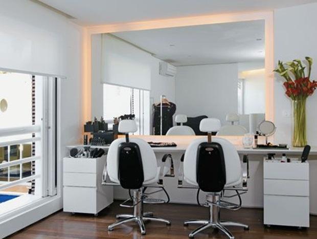 Sal o de beleza pequeno como fazer a decora o - Salon pequeno moderno ...