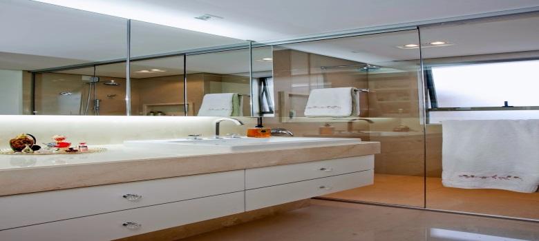 Artesanato Simples ~ Armário com Espelho para Banheiro Como Decorar