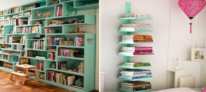 Estantes Para Livros Para Sua Casa!