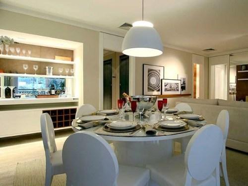 lustre pendente para sala de jantar