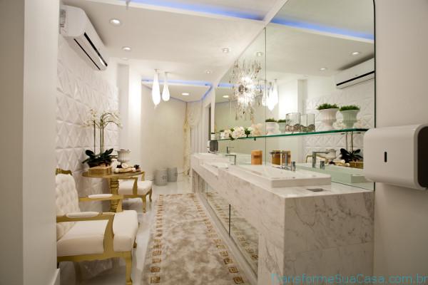Banheiro de luxo – Como decorar 6 dicas de decoração como decorar como organizar