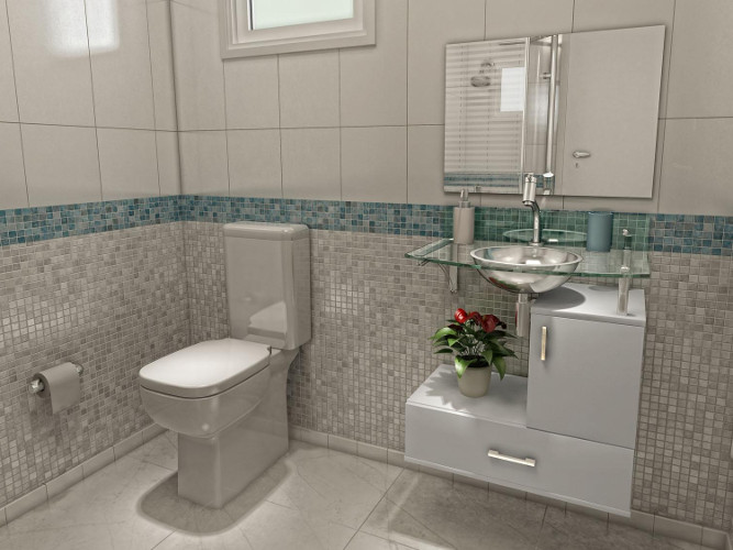Banheiros pequenos – Dicas de decoração, fotos (4) dicas de decoração fotos