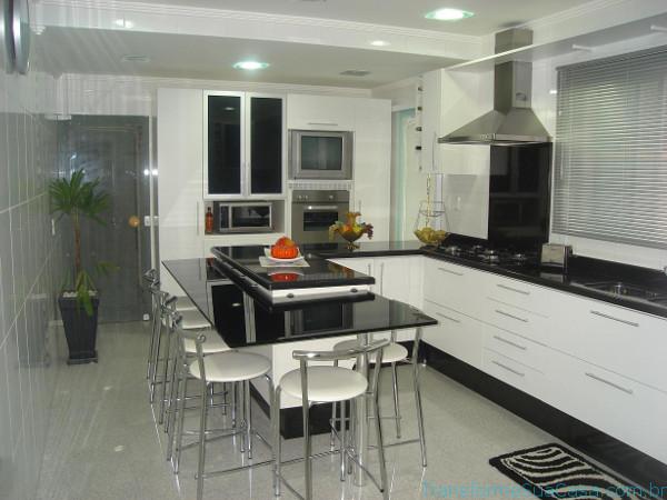 Cozinha de luxo – Como decorar (11) dicas de decoração como decorar como organizar