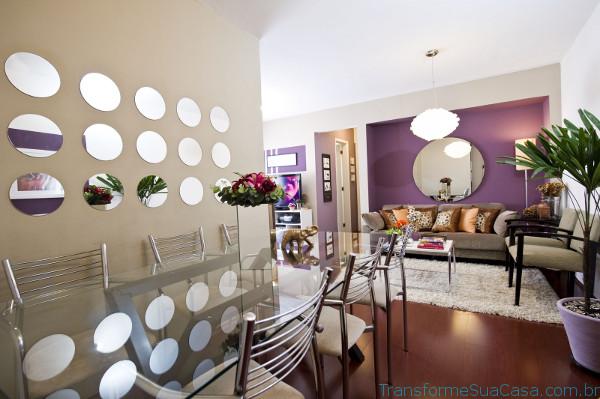 Espelhos decorativos – Como usar 2 dicas de decoração como decorar como organizar