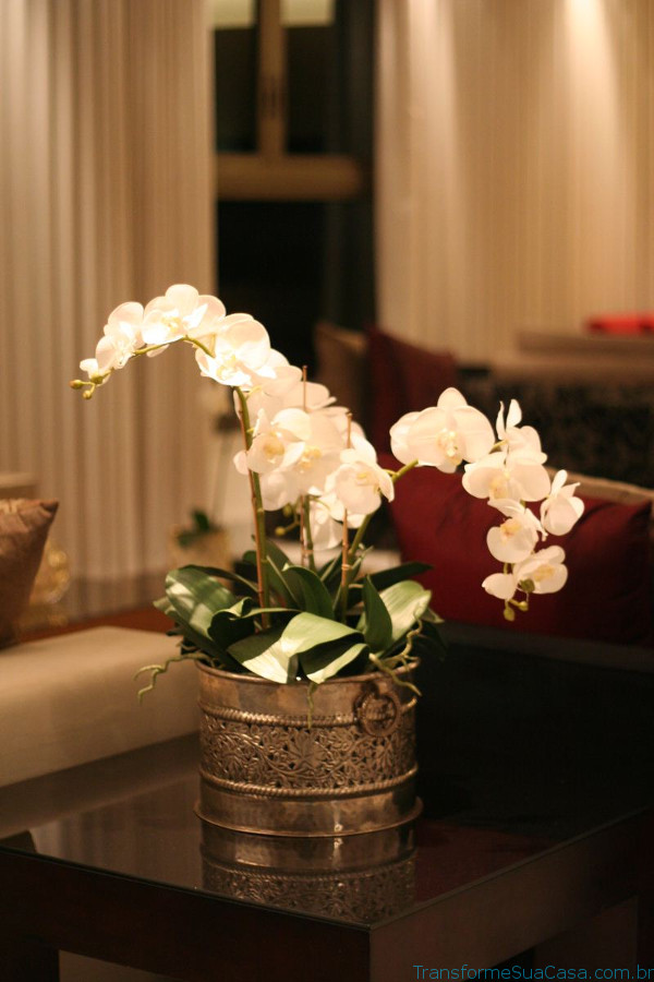 Flores artificiais – Como usar2 dicas de decoração como decorar como organizar
