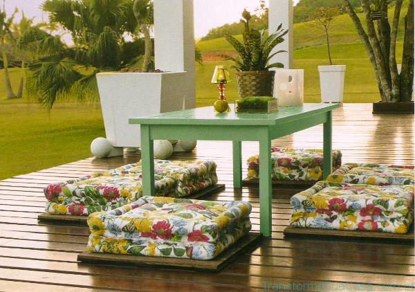Móveis para jardim e varanda – Como escolher 4 dicas de decoração como decorar como organizar