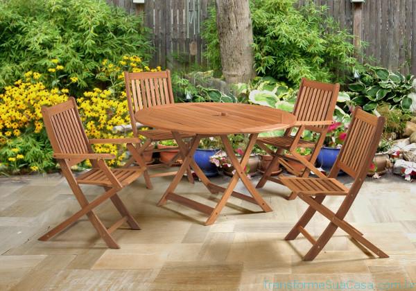 Móveis para jardim e varanda – Como escolher 6 dicas de decoração como decorar como organizar