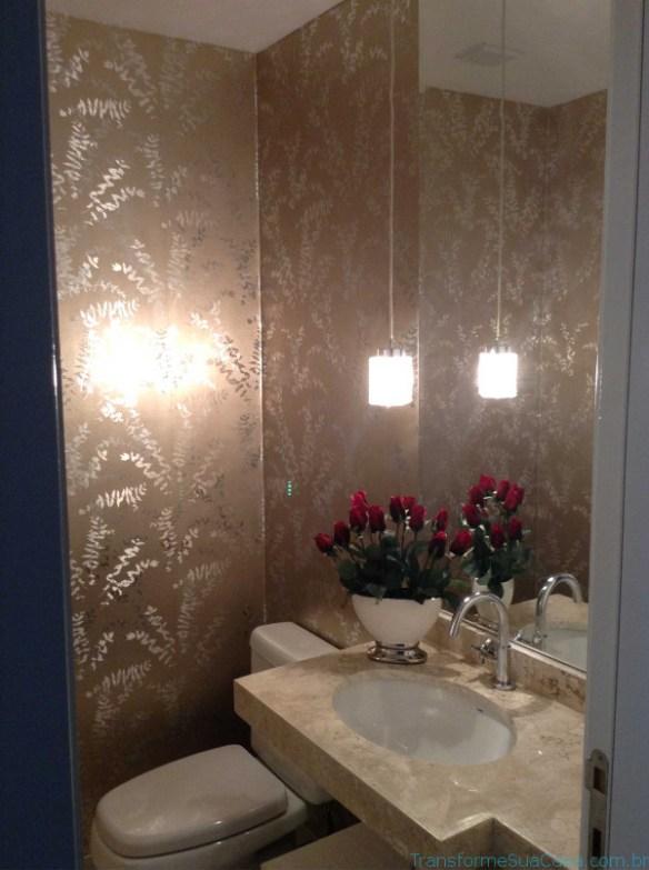 Papel de parede para lavabo – Como usar 5 dicas de decoração como decorar como organizar