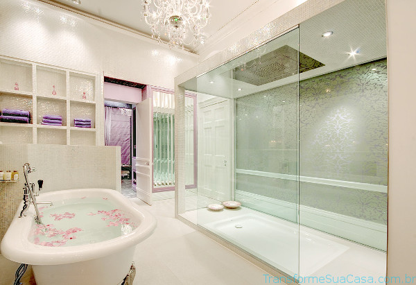 Piso para banheiro – Como escolher (5) dicas de decoração como decorar como organizar