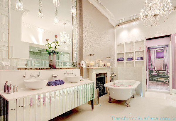 Piso para banheiro – Como escolher (6) dicas de decoração como decorar como organizar