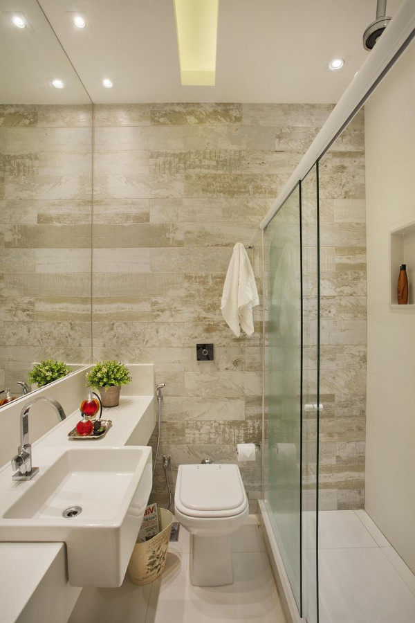 Cores para lavabo - Dicas, Fotos, Parede, piso, pequeno, grande