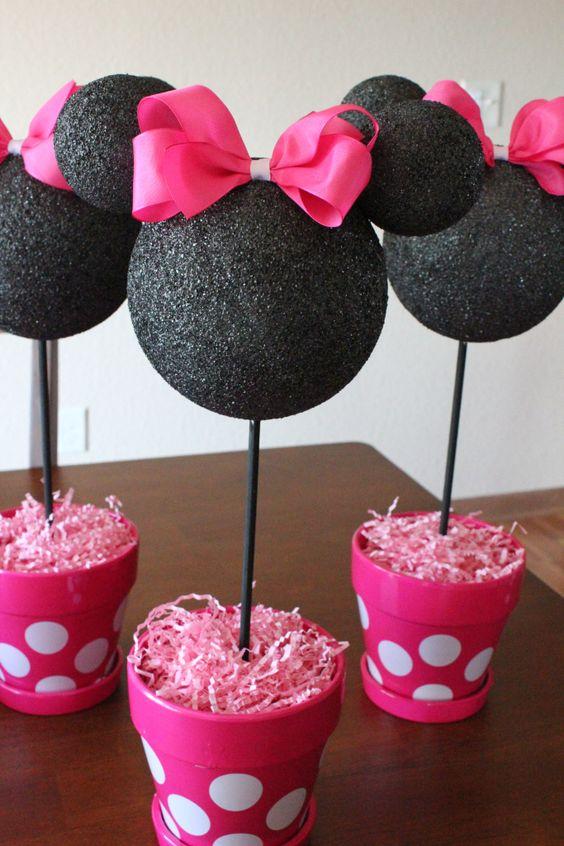 Festa Da minnie copos de doces