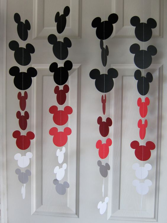 Decoracao da festa do Mickey