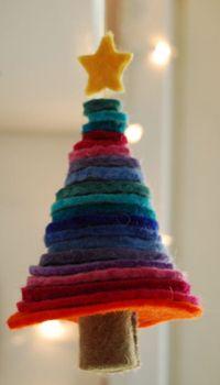 arvore de natal artesanal retalho