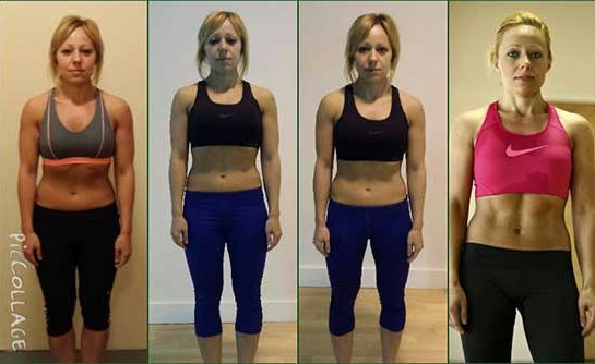 Anita fitness programme results
