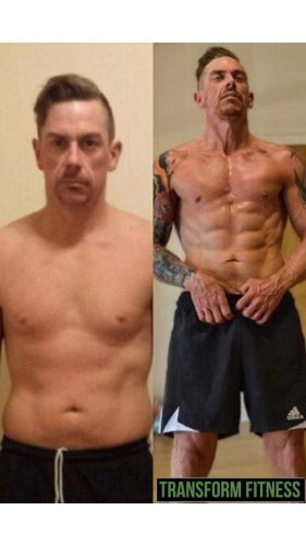 Mark Beattie Before & After Gym