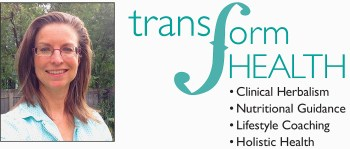 Transform Health Logo: healthy nutrition services, herbal formulation, holistic health coaching, lifestyle coaching, fort collins, colorado, health and wellness