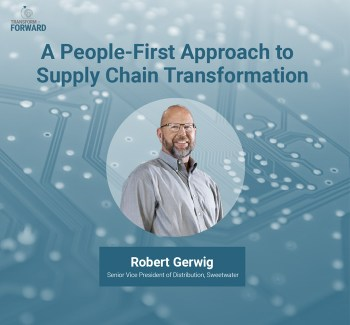 A people for approach to supply chain transformation Robert Square