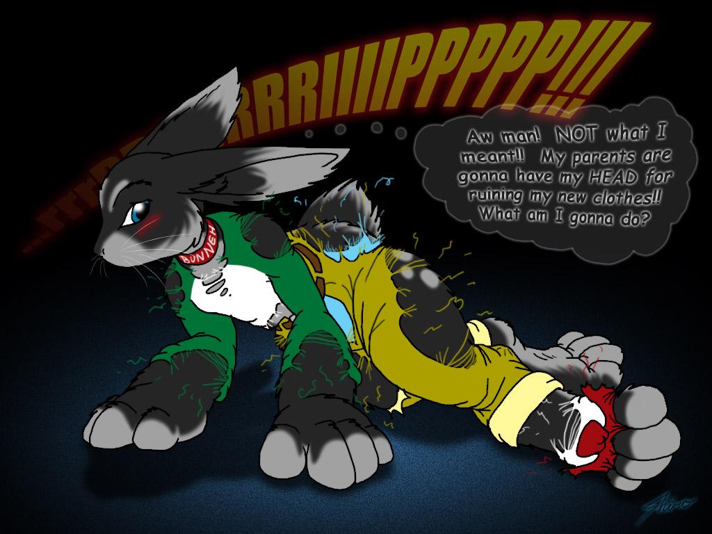 non anthro bunny tf